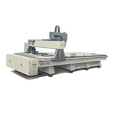 دستگاه CNC سه محور دستی